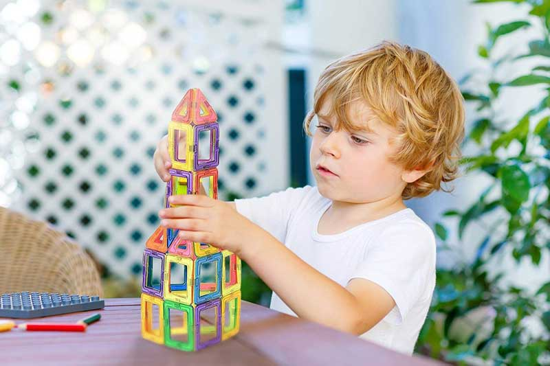 Best magnetic blocks building set for kids