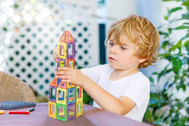 Best magnetic blocks building set for kids