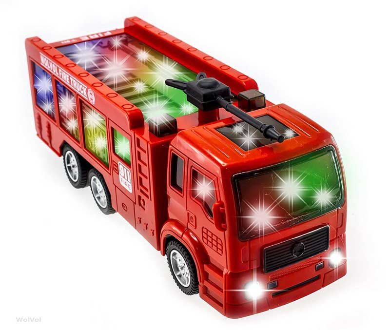 WolVol electric fire truck reviews
