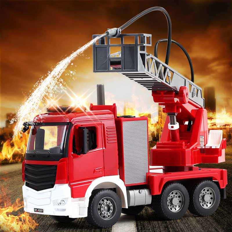 iPlay iLearn fire truck toy reviews