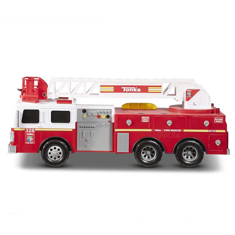 Tonka fire engine toy reviews