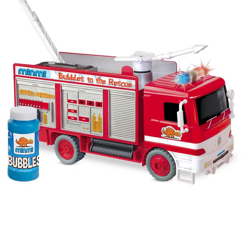 Minmi bubbles fire rescue truck reviews