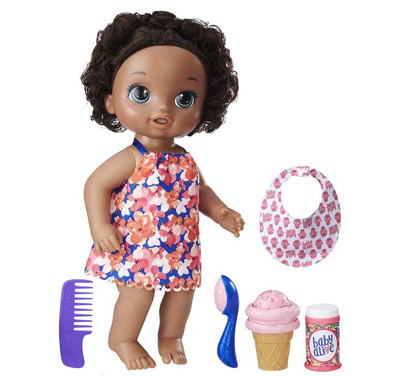 Baby-Alive-afro-American-baby-doll reviews